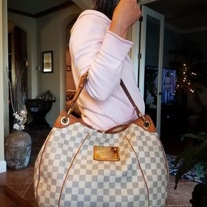Authentic Louis Vuitton Galleria Damier Azur PM
